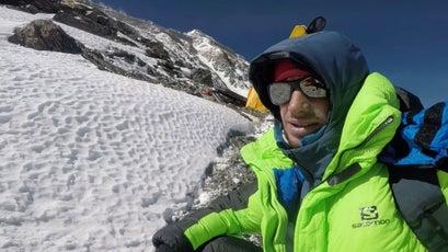 Jornet on Everest in 2017