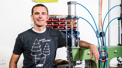 Cory Tholl, CEO of Klymit
