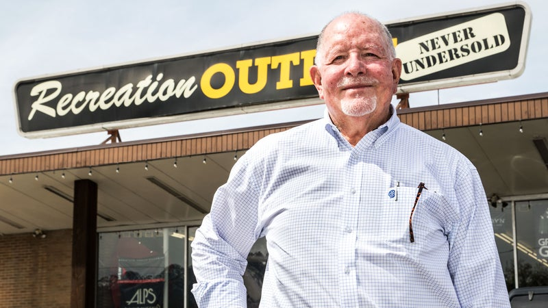 Tom Coleman, founder of Recreation Outlet