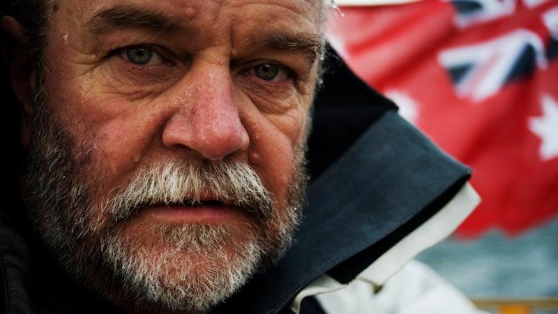 Don McIntyre, Australian adventurer and founder of the 2018 Golden Globe Yacht Race.