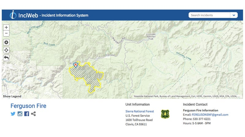 From a '90s-era text-based system, to something with daily-updated maps and social media links, InciWeb has suddenly gotten useful.