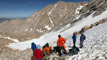 Several hikers were injured in a fall on the Chute section of Mount Whitney on June 10