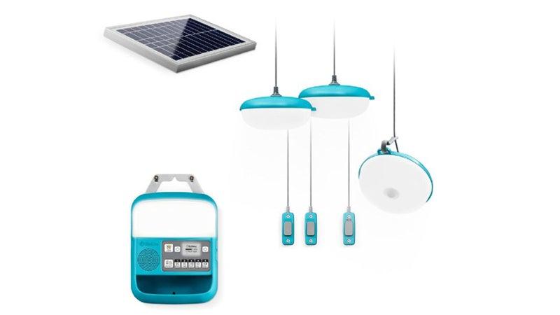 BioLite Blue Solar Camping Light