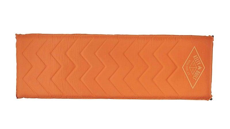 Orange Rectangular Sleeping Pad