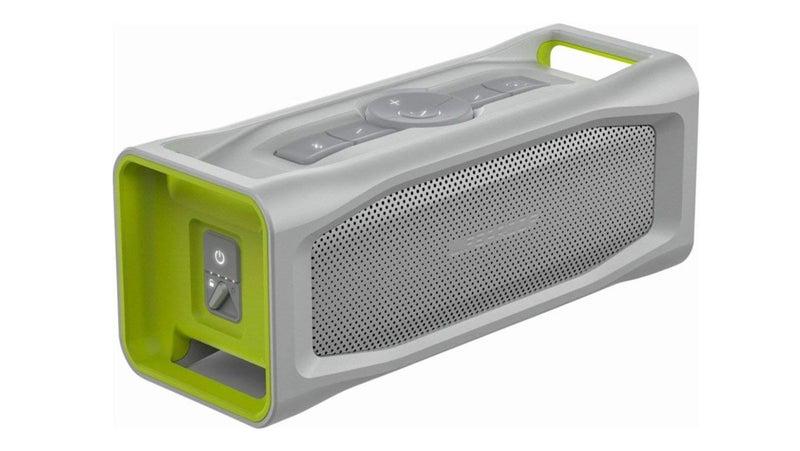Green and Gray Waterproof Speaker