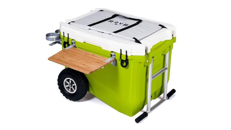 Green Rolling Cooler