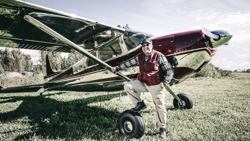 The plane's pilot, Craig Layson