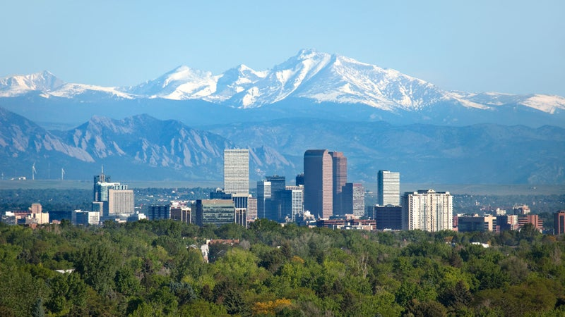 Denver: a working example of how sprawl can actually relieve pressure on growing cities.