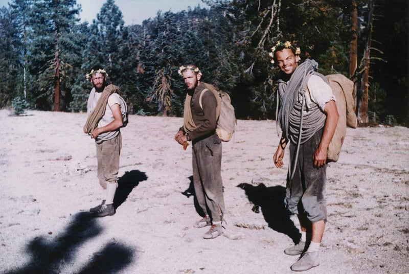 Royal Robbins, Chuck Pratt, and Tom Frost