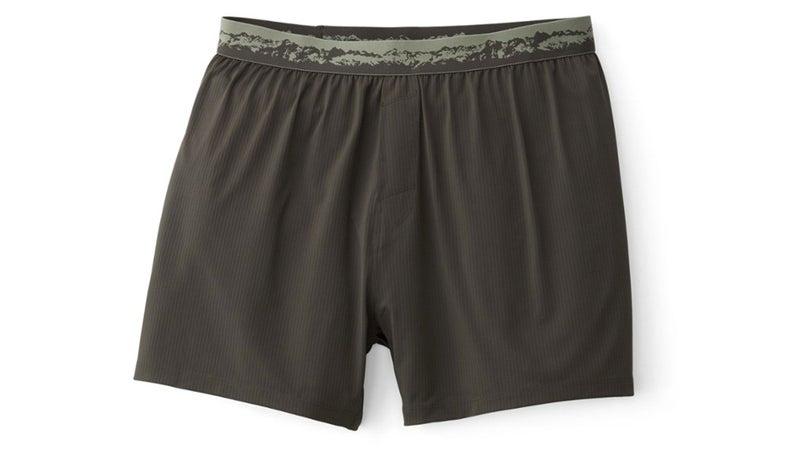 Loose grey boxers