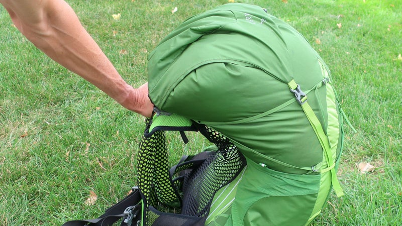 The Lightwire alloy frame is remarkably pliable. It absorbs shock better than stiff packs, but it's overwhelmed by heavier loads, akin to carrying a restless toddler or a 35-pound bobblehead.