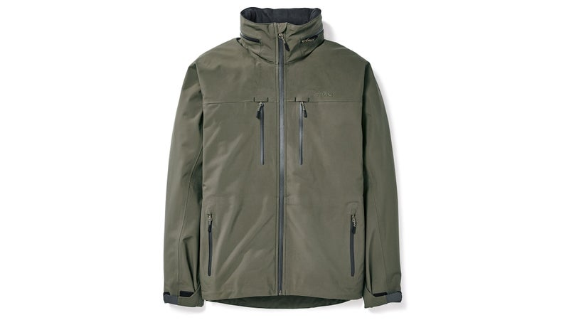 Pockets include two for your hands, and two on your chest, all sealed by waterproof YKK zippers, which are also used to seal the pit zips and hood compartment.