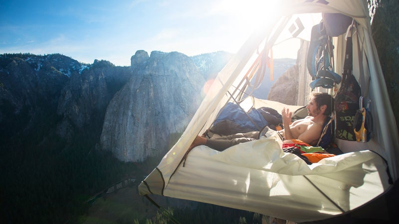Kevin Jorgeson in 'The Dawn Wall.'