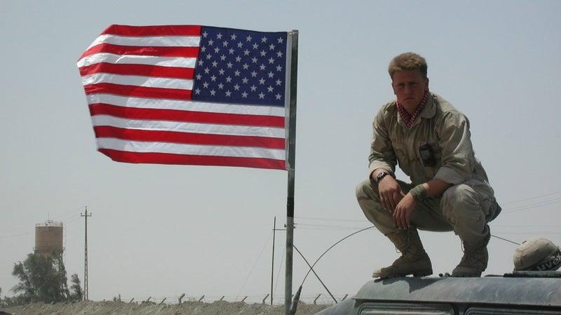 Sidles in Iraq.