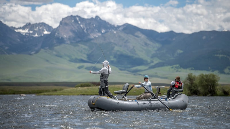 Being able to combine a day of fly fishing, with a day of bowhunting, is really unique. An out-of-state two-day fishing license is $50.