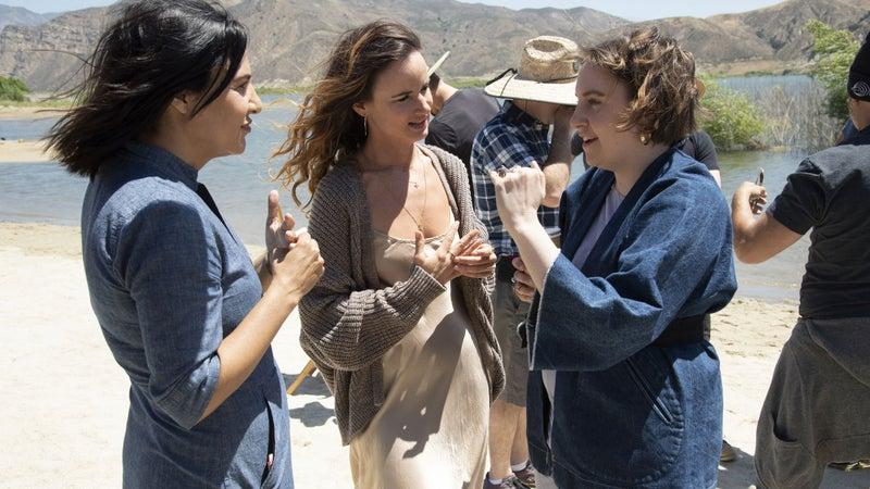 Jenni Konner, Juliette Lewis, Lena Dunham.