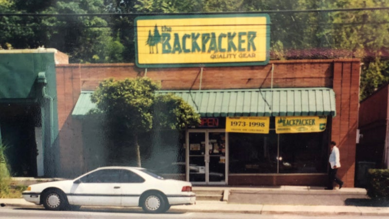 The Backpacker store.