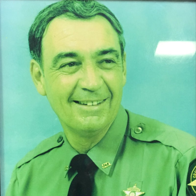 White County sheriff Frank Baker.