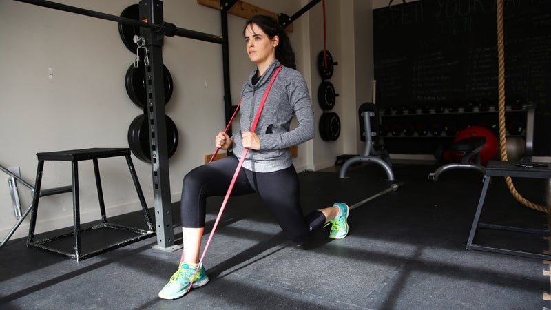 Your new (cheap) workout buddy: the resistance band.