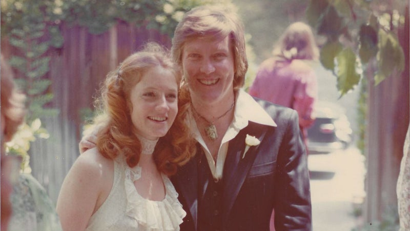 Carr and Martha in 1975.