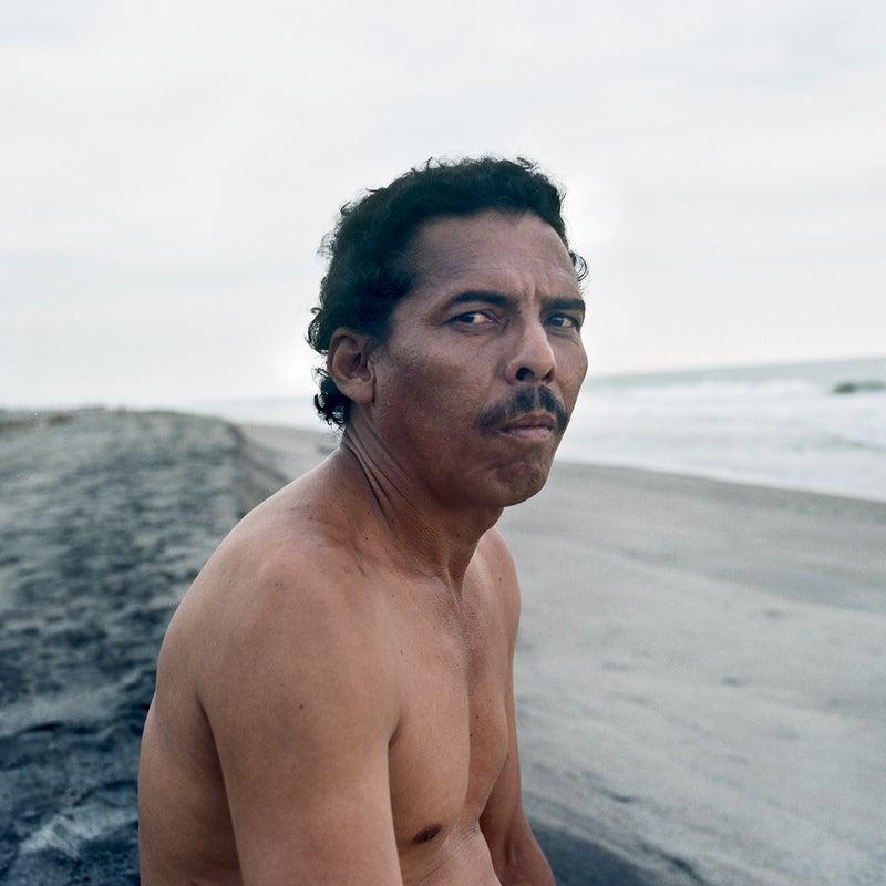 A local fisherman who says he saw the Cúlin wash ashore
