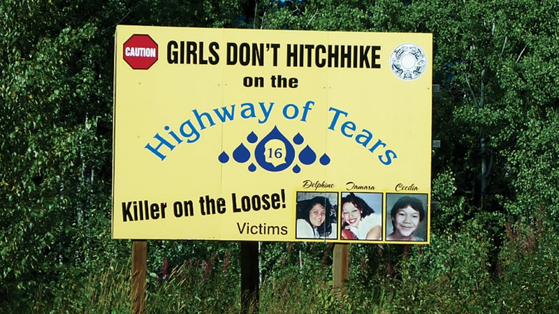 Highway 16 billboard