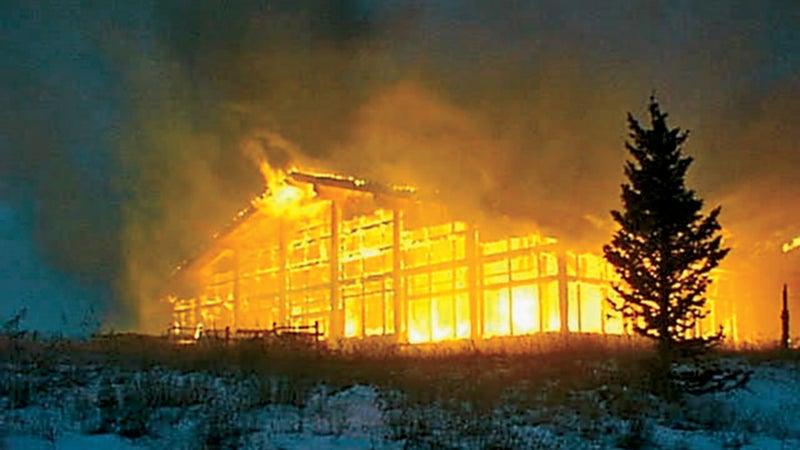 The Two Elk Restaurant fire, October 19, 1998