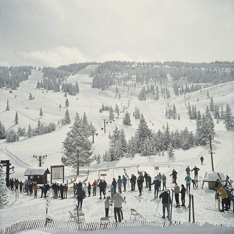 What overcrowding looked like at Vail in 1964