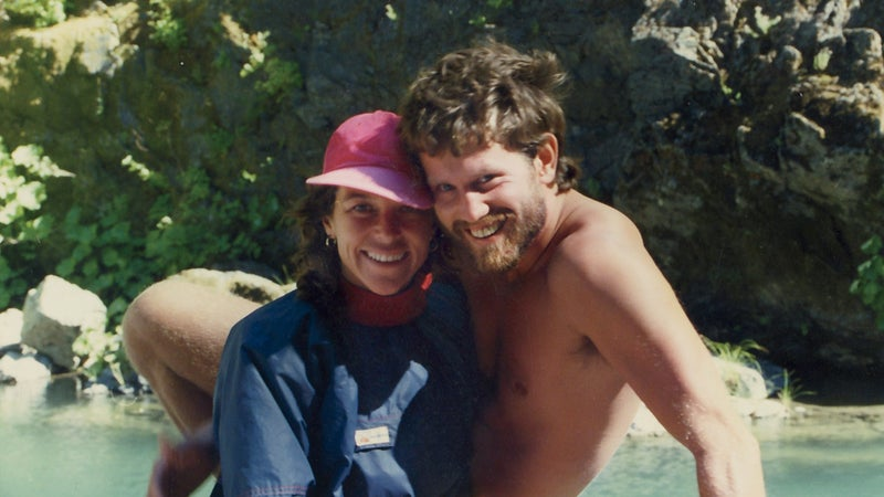 Phelps and Davidson in 1989