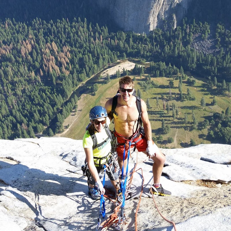 Jason and Becky on El Cap