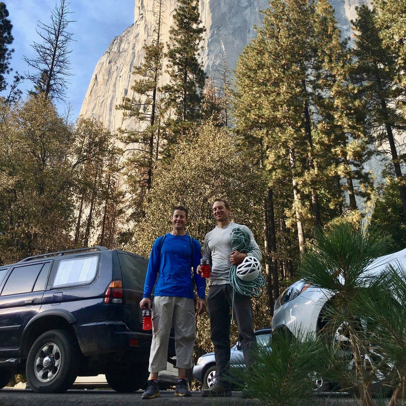 Jason and Tim after climbing El Cap two times in one weekend.