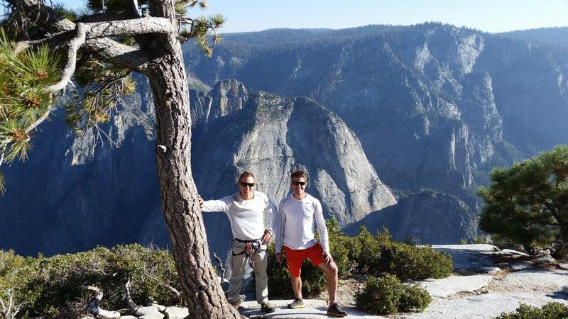 Jason and Tim on El Cap