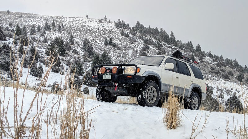 It's not a truck I'm proud of, it's a truck that gets the job done. Not having to care about a vehicle is a huge luxury when you're faced with really challenging driving conditions.