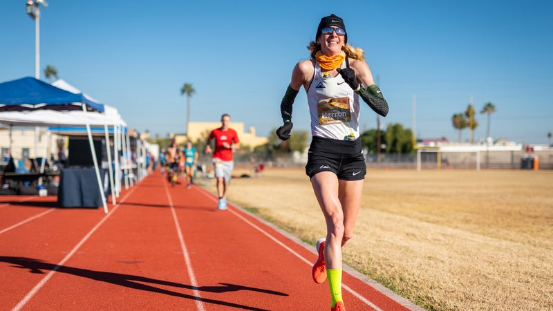It takes a certain kind of person to want to run more than 100 miles around a 400-meter oval.