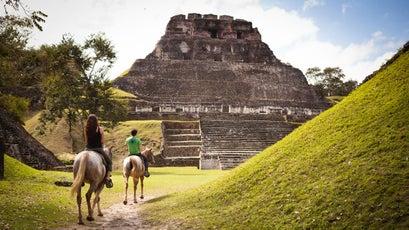 Maya ruins, Belize.
