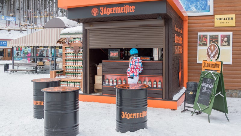 Jägermeister is becoming popular with master mixologists.