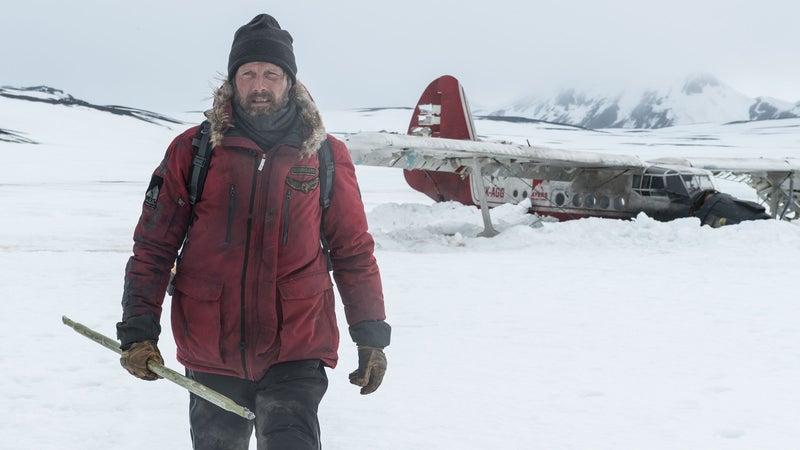 Mads Mikkelsen stars as Overgard in 'Arctic.'