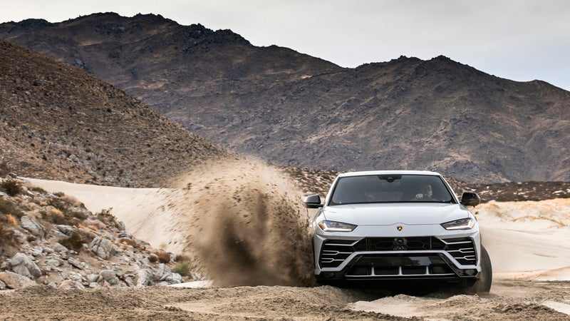 With 650 horsepower, powerslides are easy.