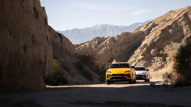 With its air suspension raised, and the AWD system mimicking the function of 4WD, the Urus is actually very capable on rough dirt roads. Just don't hit those big, expensive wheels too hard on anything.