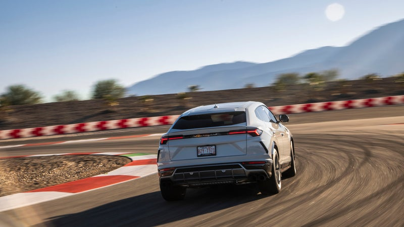 Yes, the Urus can do race tracks too. Should it be your go-to car for track days? Of course not, but it still makes all the sounds you'd expect any good Lamborghini to, and is a fun and engaging drive.