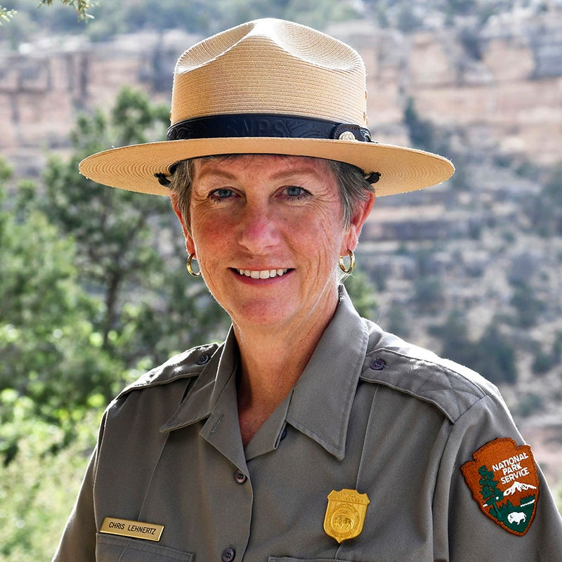 Lehnertz is Grand Canyon's first female superintendent and the first openly gay person to head up the park.