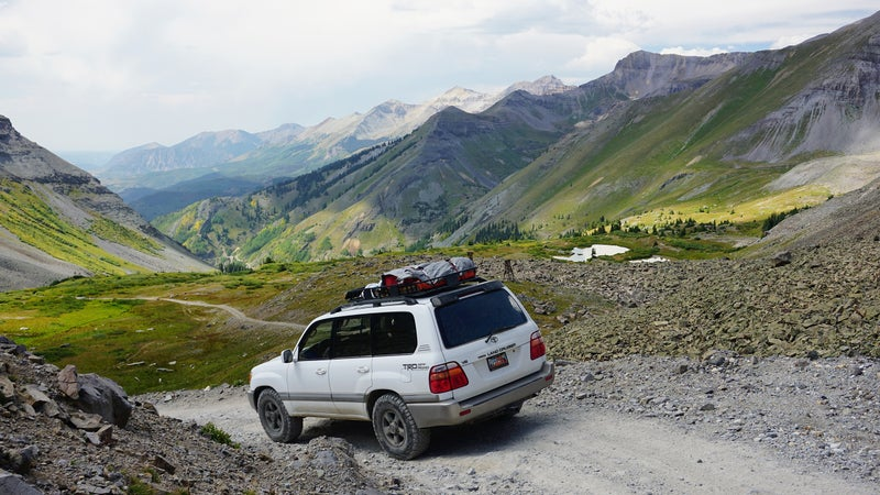 A freshened suspension makes rocky terrain a lot more tolerable.