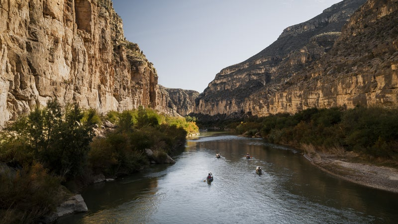 Ben Masters and his crew float down the Rio Grande in 'The River and the Wall.'