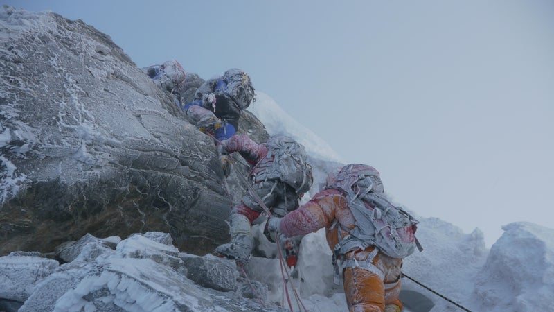 Garrett Madison and Ben Jones confirmed that the Hillary Step has disappered, pictured here in 2012