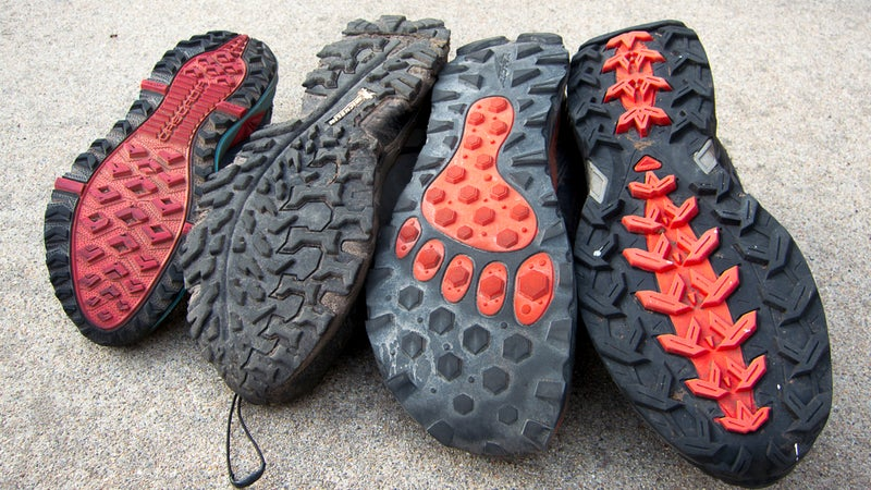 If your outsoles are not at least this aggressive, look for a different shoe.