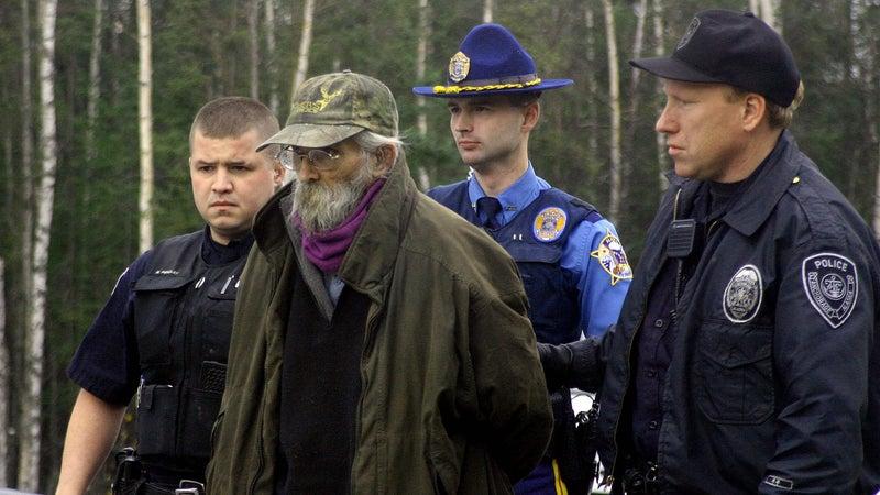 Hale just after his arrest on October 5, 2005.