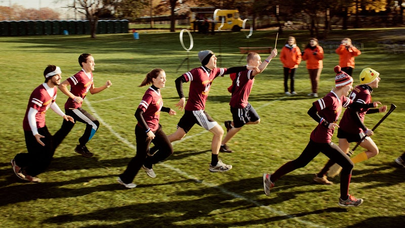 In 2012, Outsiders put together a team of misfits for the Quidditch World Cup, playing for Iceland. It was pretty brutal for everyone involved.