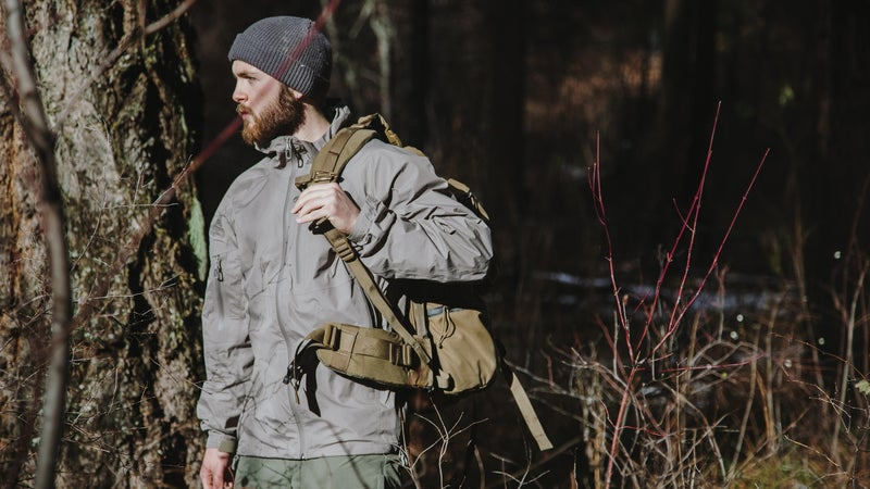 All the layers are designed to work together to facilitate moisture management, weather protection, breathability, and fit.
