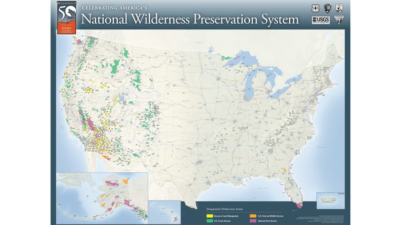 Wilderness areas can be managed by one of several agencies, but all ban wheeled travel, and are some of the absolute best places to participate in intact ecosystems.