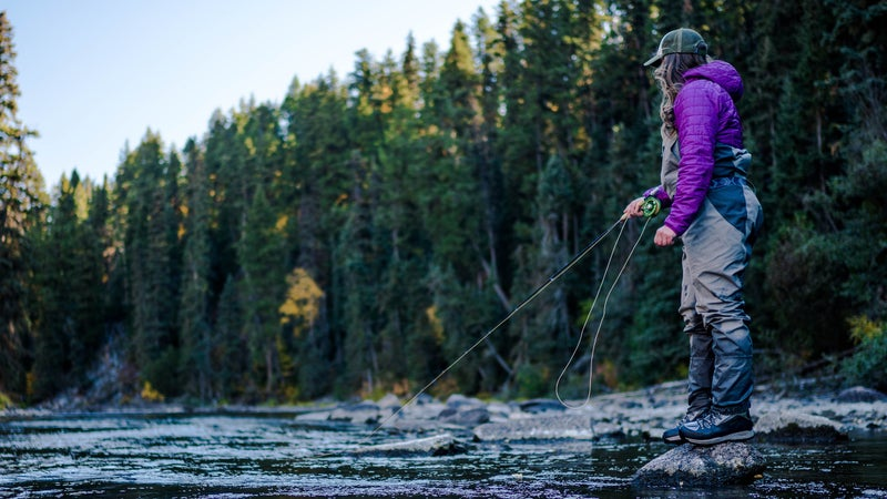 For many female fly-fishers, Instagram is a double-edged sword.